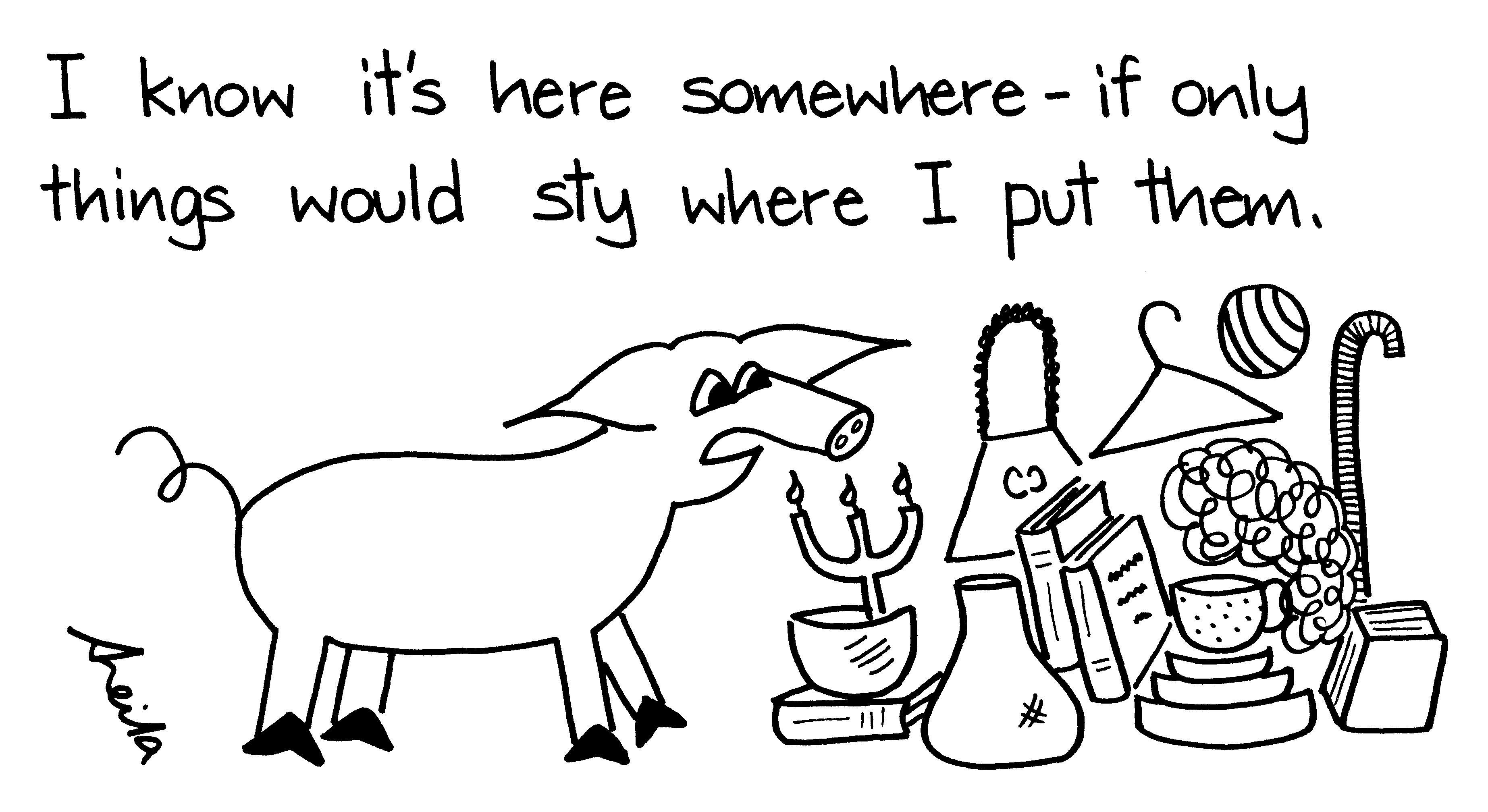 pigs pet hates or pet peeves cartoons cartoon pig